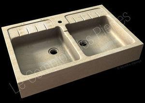 Le Comptoir des Pierres - egaliere - Lavello A 2 Vasche