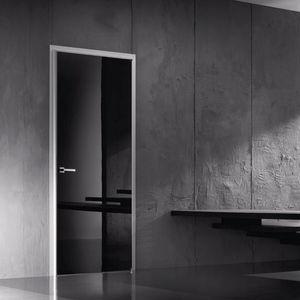 Silvelox - wayl shine nero lucido - Porta Interna A Battente