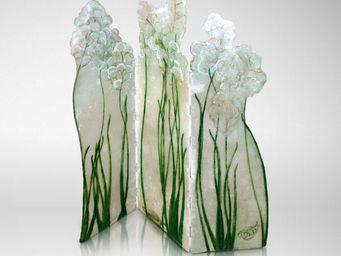 Genevieve Bonieux - fleurs du bien - Paravento Separ�