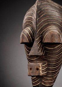 Jo De Buck - masque kifwebe de style archaïque - Maschera Africana