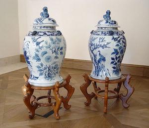 KUNST UND ANTIQUITATEN EHRL - pair of vases - Vaso Di Porcellana