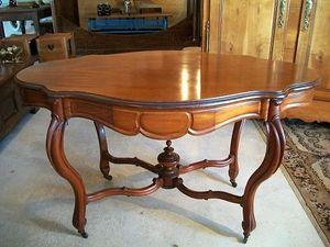 Le Grenier de Matignon - table-gueridon en acajou de la fin du xixe siecle - Tavolino Rotondo