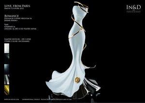 In&D - romance - Vaso Decorativo