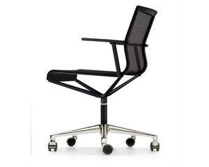 Icf - stick chair 4-5 star base - Sedia Ergonomica