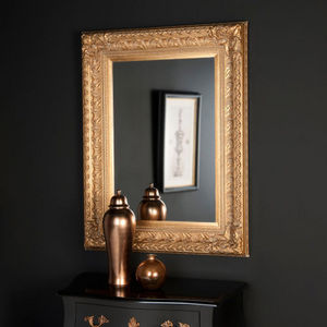 MAISONS DU MONDE - miroir marquise or 95x125 - Specchio