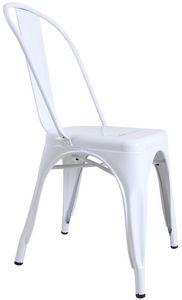 COMFORIUM - chaise design «toxi» coloris blanc - Sedia