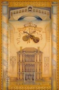 Bery Designs - villa rotunda - Tappezzeria