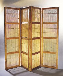 Matahati - portes paravent teck & bambou - Paravento Separé