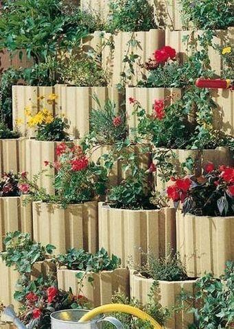 MARLUX - Bordura da giardino-MARLUX-Moduflor Talus Floraux