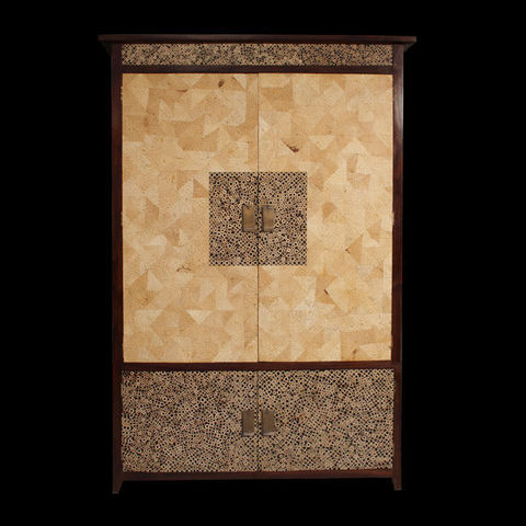 Matahati - Armadio con ante a battente-Matahati-Armoire en mosaïque sur mesure