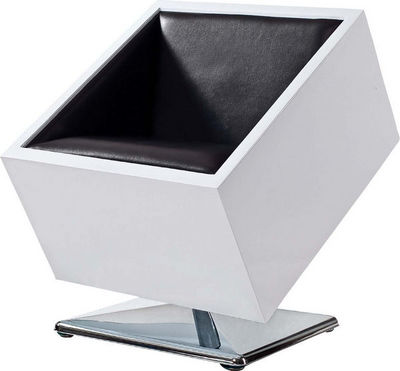 Miliboo - Poltrona-Miliboo-SQUARE BOX CHAIR